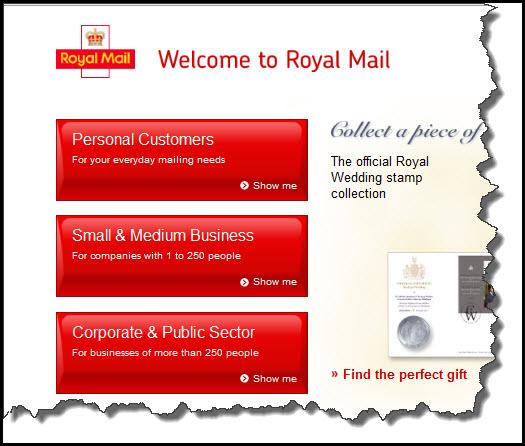 Royal Mail CTA audience-segmentation