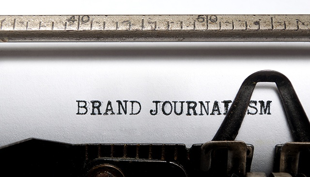 What is brand journalism?