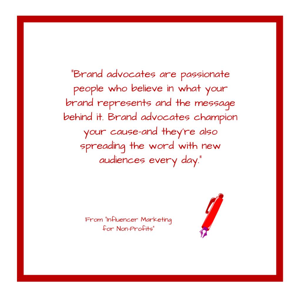 Brand Advocate Quote